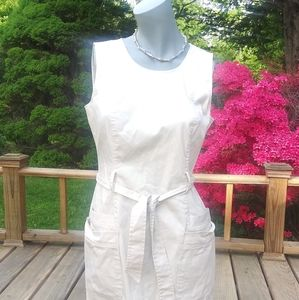 Calvin Klein Belted Dress Sz 6…